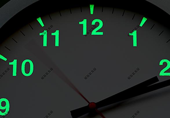 这样的钟表才有创意-夜光粉印刷创意应用案例