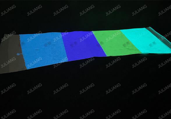 钜亮客户夜光创意开发之夜光粉粉应用于夜光皮革
